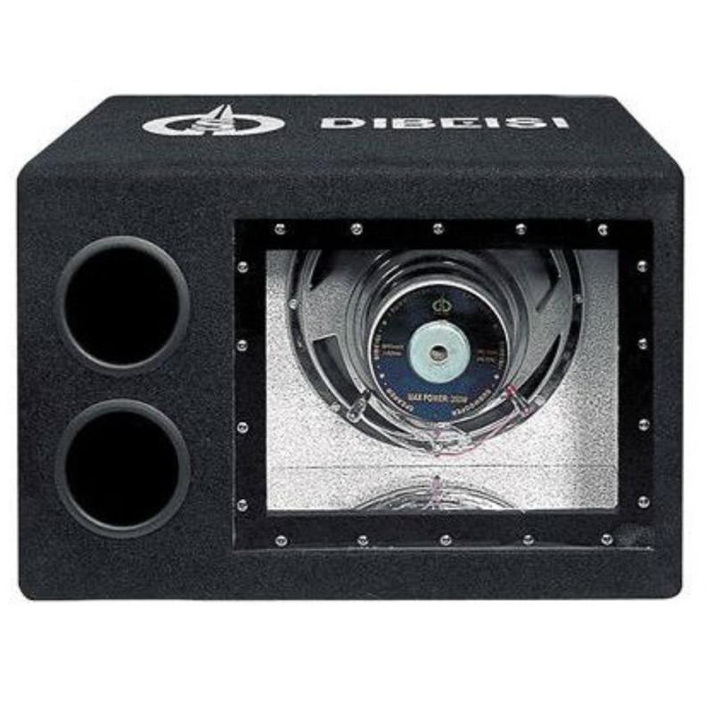 Subwoofer Auto Dibeisi cu Amplificator 10 inch, 91 dB, 240 W , Negru 2021 shopu.ro