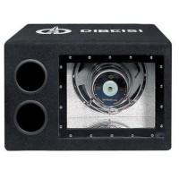 Subwoofer Auto Dibeisi cu Amplificator 10 inch, 91 dB, 240 W , Negru
