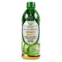 Suc Bio de Aloe Vera cu pulpa Ultra+++ Benessere, 1000 ml