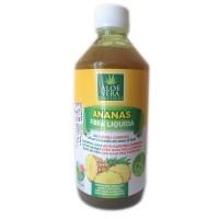 Suc organic fibra lichida de Ananas Benessere, 500 ml