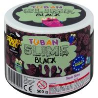 Super Slime Tuban, 500 g, 6 ani+, Negru