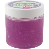 Super Slime neon cu sclipici Tuban, 100 g, 6 ani+, Mov