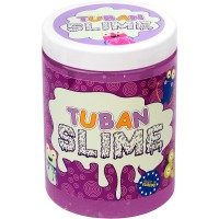 Super Slime neon cu sclipici Tuban, 1000 g, 6 ani+, Mov