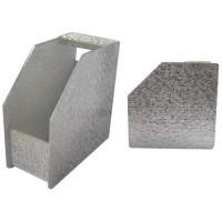 Suport pentru expunere sabloane unghii P137, Argintiu