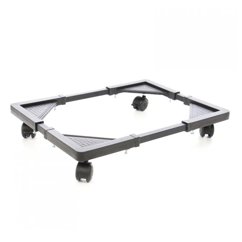 Suport ajustabil pentru electrocasnice, reglabil, 50 - 70 cm, suporta 200 kg, mecanism de blocare