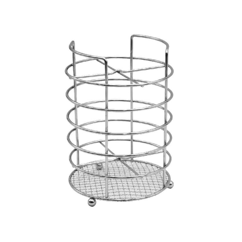 Suport pentru tacamuri Sapir, Argintiu 2021 shopu.ro