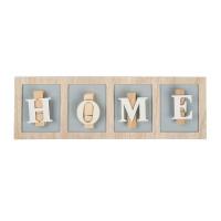 Suport decorativ pentru notite, 40 cm, mesaj Home