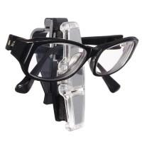 Suport dublu pentru ochelari RoGroup, ABS, argintiu