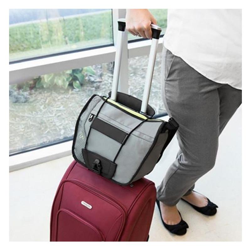 Suport elastic pentru bagaje Bungee, Negru