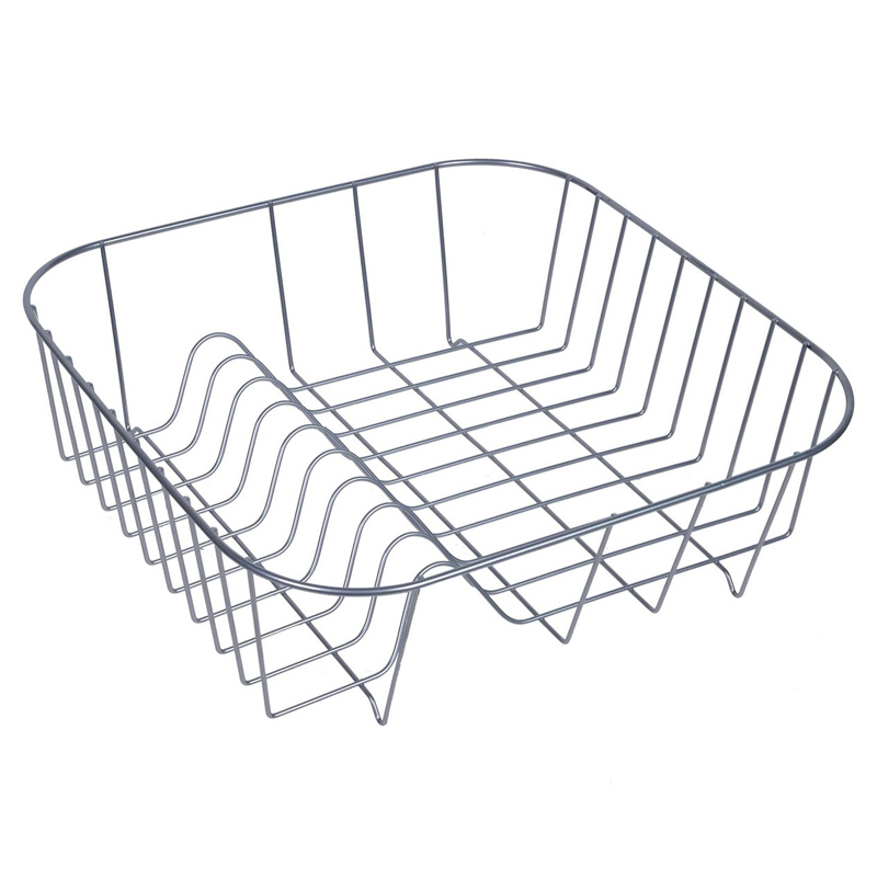 Suport metalic pentru vase, 34 x 34 cm, Gri 2021 shopu.ro
