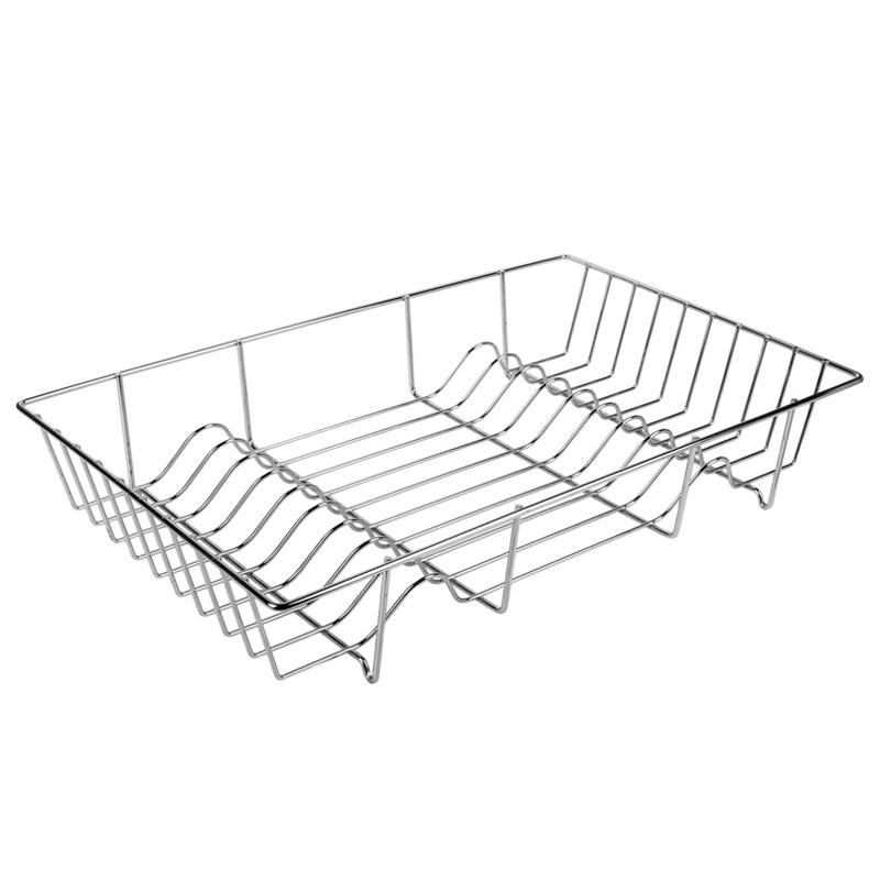 Suport metalic pentru vase, 49 x 31 x 8 cm, Gri 2021 shopu.ro