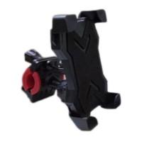 Suport telefon pentru bicicleta/motocicleta, 360 grade, Negru