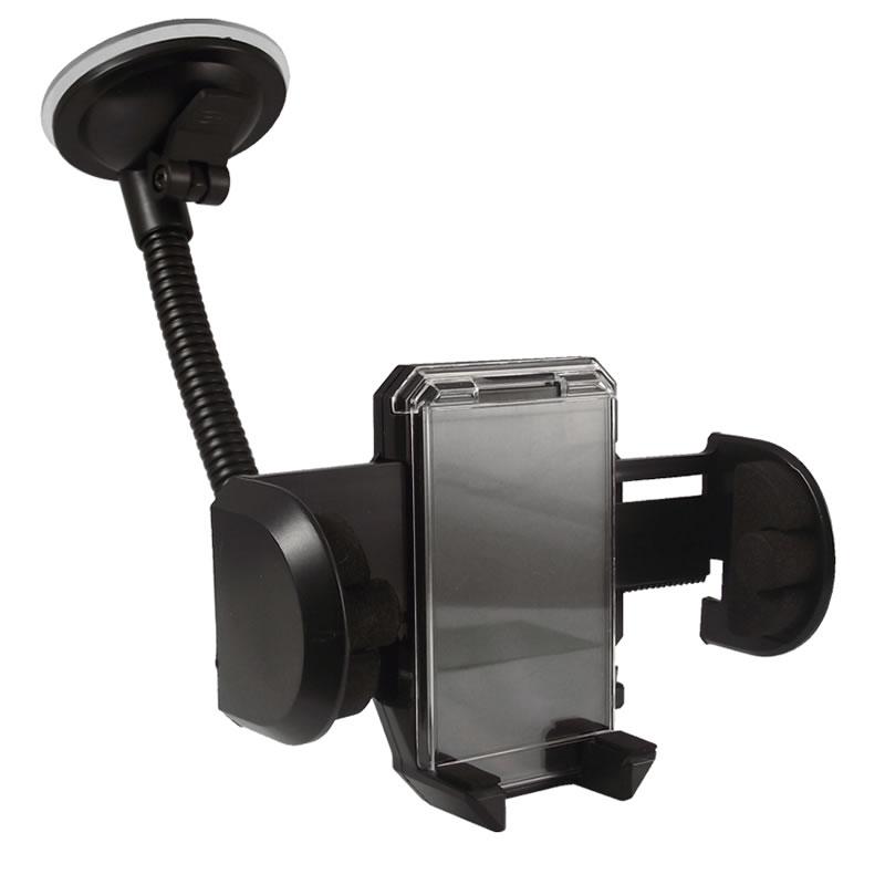 Suport universal auto pentru telefon cu brat, 360 grade 2021 shopu.ro