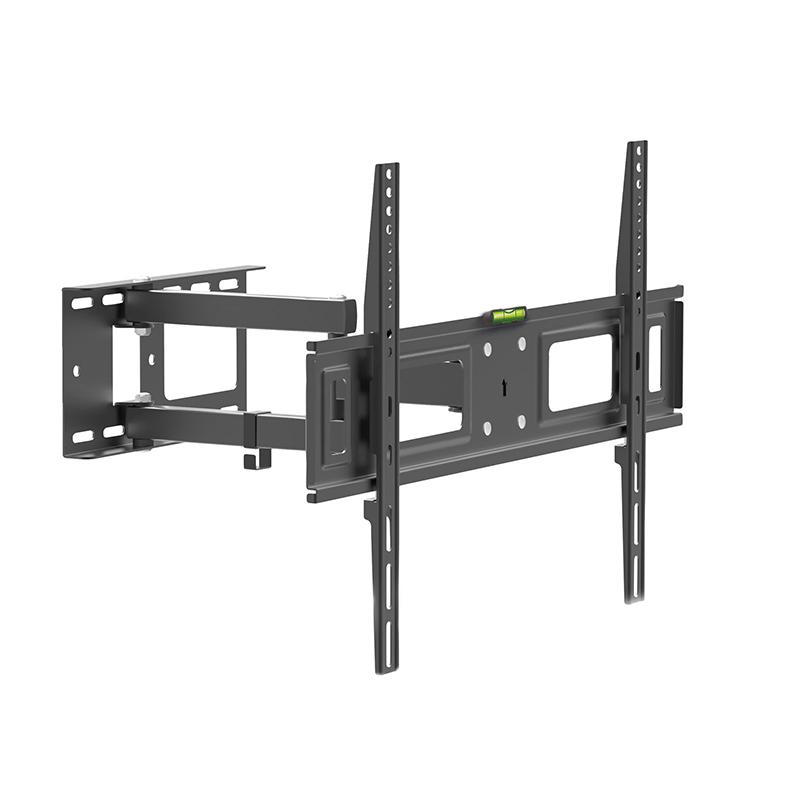 Suport TV pentru perete Delight, 32-70 inch, brat rabatabil, maxim 35 kg, Negru 2021 shopu.ro