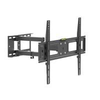 Suport TV pentru perete Delight, 32-70 inch, brat rabatabil, maxim 35 kg, Negru