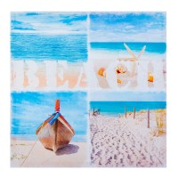 Tablou canvas decorativ Beach, 60 x 60 cm