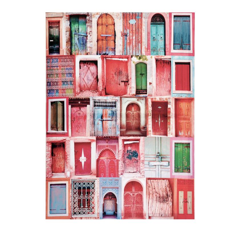 Tablou canvas decorativ, 70 x 50 cm, Multicolor 2021 shopu.ro