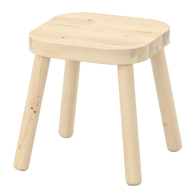 Scaun pentru copii, 24 x 24 x 28 cm, lemn masiv
