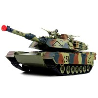 Tanc M1A2 Abrams Heng Long, scara 1:24, telecomanda