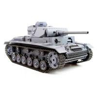 Tanc cu fum Panzer III, scara 1:16, telecomanda