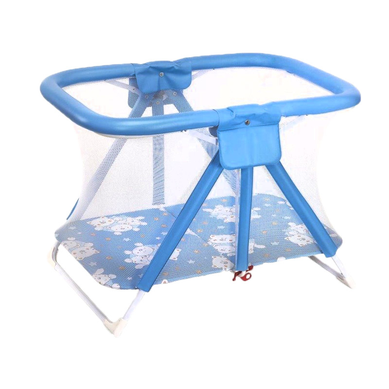 Tarc de joaca Pratico Plebani, 79 x 112 x 80 cm, 6 luni+, albastru imagine