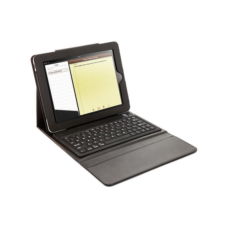 Tastatura bluetooth si husa de piele pentru iPad 2021 shopu.ro