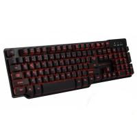 Tastatura Gaming USB iluminata Hunter Esperanza, Negru
