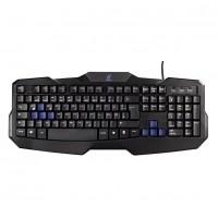 Tastatura cu fir gaming uRage Exodus, taste iluminate, Negru