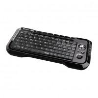 Tastatura wireless pentru smart TV Hama Uzzano, 15 taste media, Negru