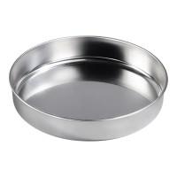 Tava rotunda pentru copt Xavax, 34 cm, otel inoxidabil, Argintiu