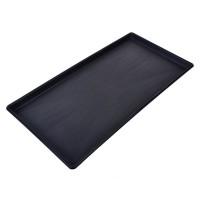 Tavita pentru incaltaminte, 70 x 35 x 3 cm, Negru
