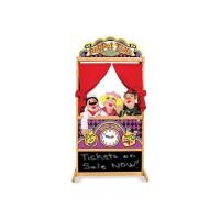 Teatru de papusi Deluxe Melissa & Doug, 132 x 63 x 45 cm, Multicolor