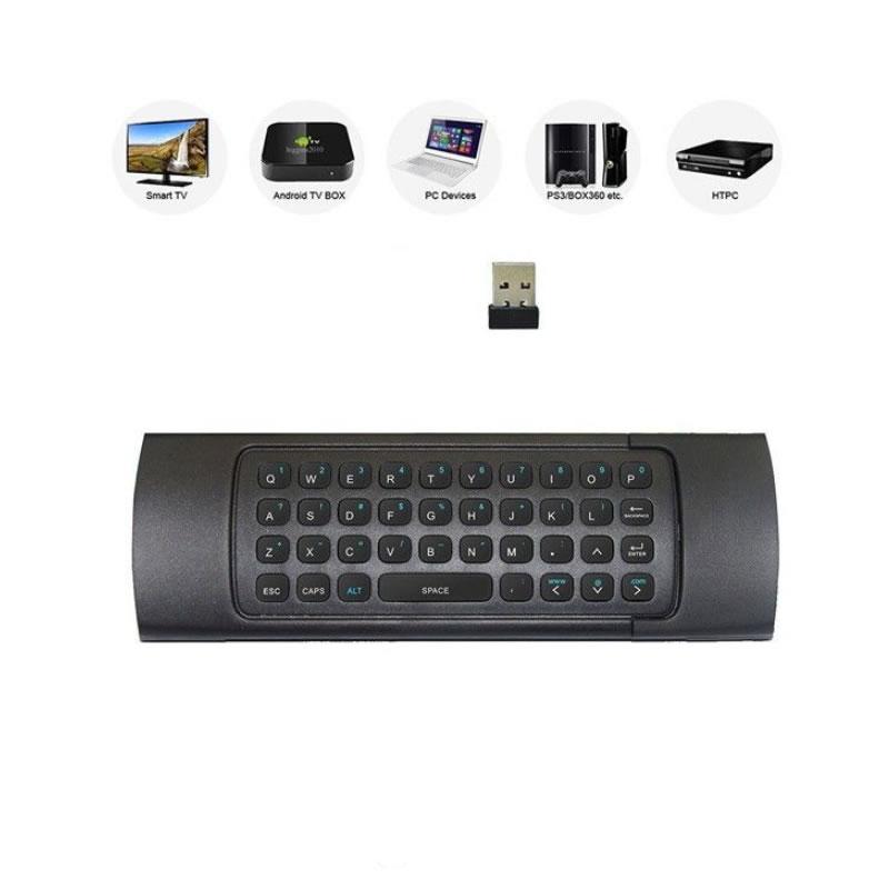 Telecomanda Smart TV, 3D Air Mouse si tastatura wireless