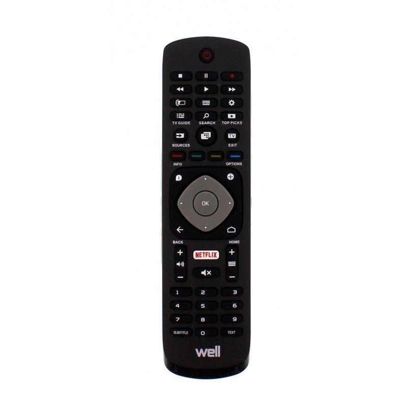 Telecomanda universala TV LCD Philips Well, 2 x AAA