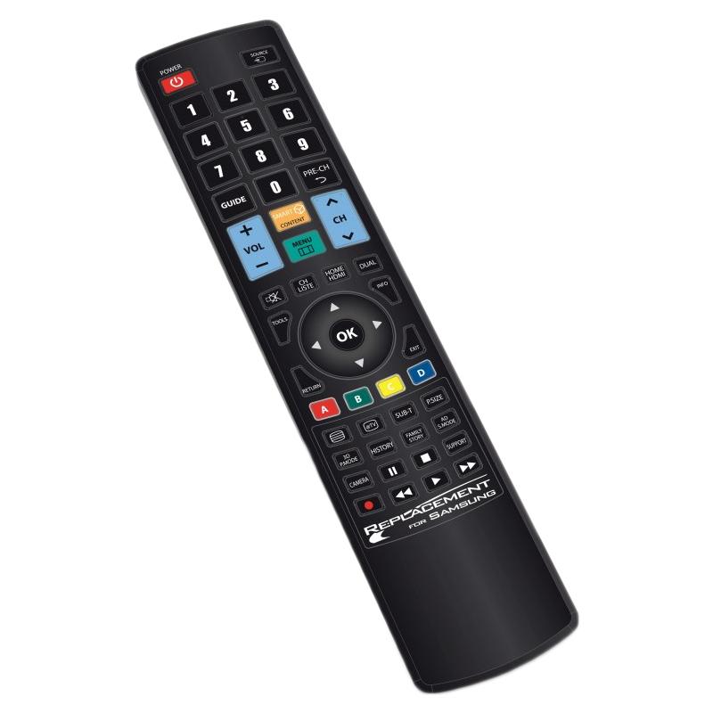 Telecomanda universala TV LCD Samsung Jolly, 2 x AAA 2021 shopu.ro