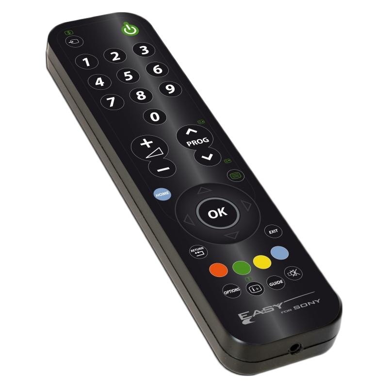 Telecomanda universala TV LCD Sony Jolly, AAA, negru 2021 shopu.ro