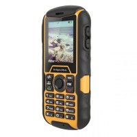 Telefon RUGGED Iron Kruger Matz, 2 SIM, negru/galben