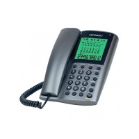 Telefon fix MicroTel MCT3180CID, analogic, display LCD, ceas si calendar
