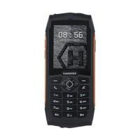 Telefon mobil Hammer 3 Rugged, 2G, ecran 2.4 inch, 32 MB RAM, 32 MB, 2000 mAh, IP68, Black/Orange