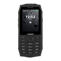 Telefon mobil Hammer 4 Rugged, 2G, ecran 2.8 inch, 64 MB, 64MB RAM, 2 MP, 2000 mAh, Negru