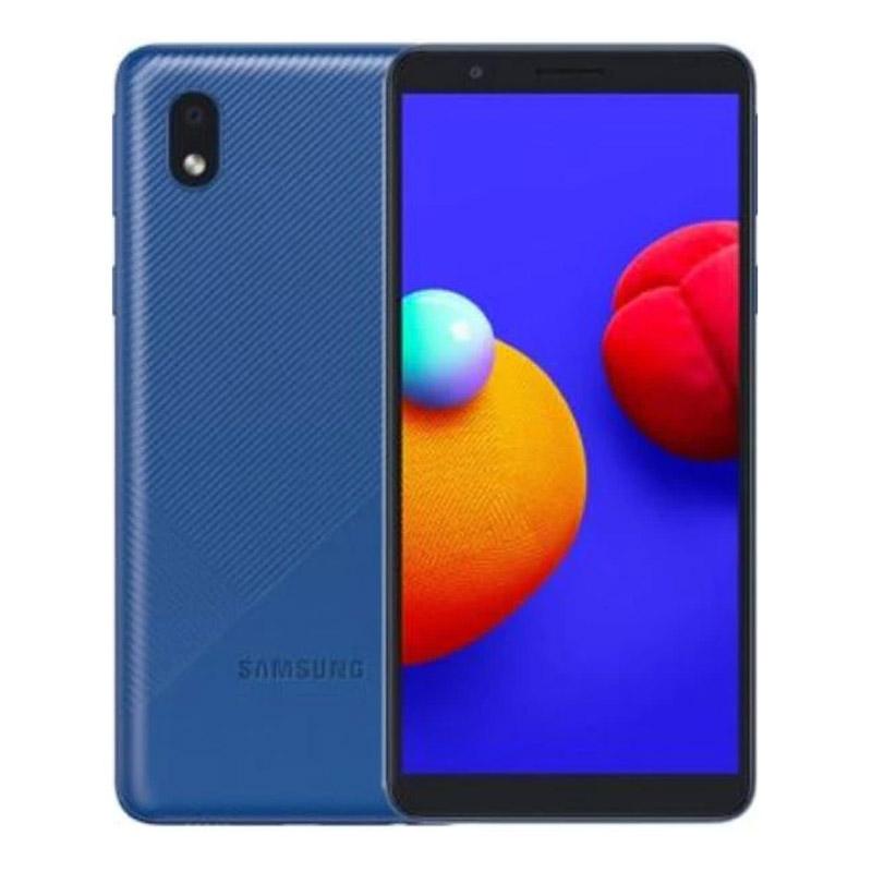 Telefon mobil Samsung Galaxy A01 Core, 4G, Dual Sim, 16 GB, 1 GB RAM, 3000 mAh, Blue