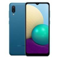 Telefon mobil Samsung Galaxy A02, ecran 6.5 inch, 4G, Dual Sim, 32 GB, 2 GB RAM, 5000 mAh, Blue