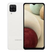 Telefon mobil Samsung Galaxy A12, ecran 6.5 inch, 4G, Dual Sim, 64 GB, 4 GB RAM, 5000 mAh, White