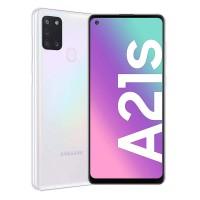 Telefon mobil Samsung Galaxy A21S A217, ecran 6.5 inch, 4G, Dual Sim, 32 GB, 3 GB RAM, 5000 mAh, White