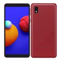Telefon mobil Samsung Galaxy M01 Core, ecran 5.3 inch, 4G, Dual Sim, 16 GB, 1 GB RAM, 3000 mAh, Red