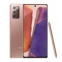Telefon mobil Samsung Galaxy Note20, 5G, ecran 6.7 inch, 8 GB RAM, 256 GB, 3000 mAh, Mystic Bronze