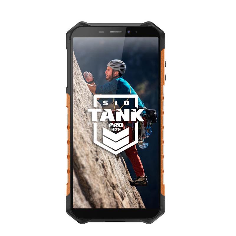 Telefon mobil Smart iHunt S10 Tank PRO, Android 9, ecran IPS 5.5 inch, 32 GB, 2 GB RAM, 5 MP, 5000 mAh, Dual Sim, Black/Orange 2021 shopu.ro
