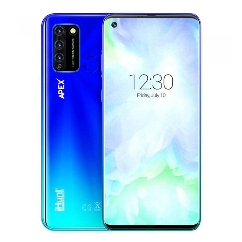 Telefon mobil Smart iHunt S20 Ultra ApeX, Android 10, ecran IPS 6.55 inch, 32 GB, 3 GB RAM, 13 MP, 5000 mAh, Dual Sim, Blue 2021 shopu.ro