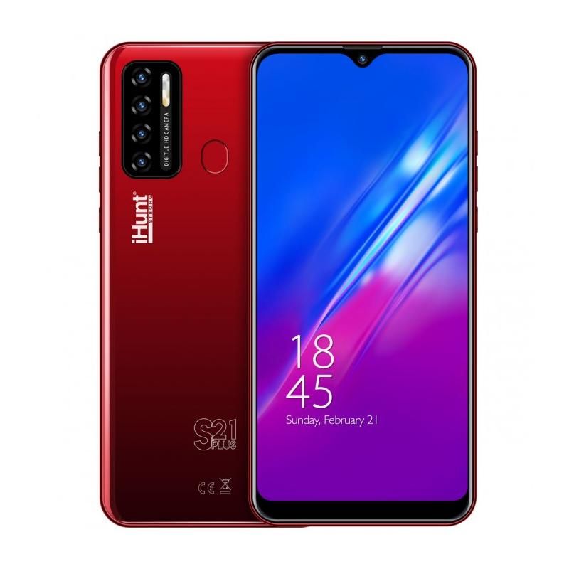 Telefon mobil Smart iHunt S21 Plus ApeX, Android 10, ecran IPS 6.3 inch, 16 GB, 2 GB RAM, 13 MP, 4000 mAh, Dual Sim, Red 2021 shopu.ro
