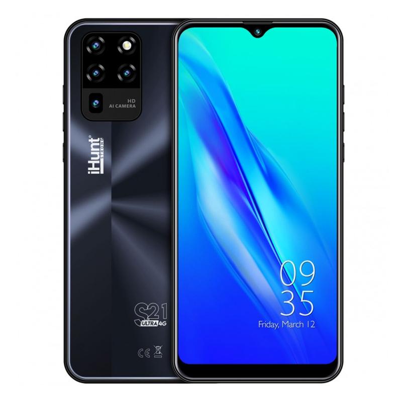 Telefon mobil Smart iHunt S21 Ultra ApeX, Android 10, 4 GB, ecran IPS 6.3 inch, 16 GB, 2 GB RAM, 13 MP, 4000 mAh, Dual Sim, Black 2021 shopu.ro